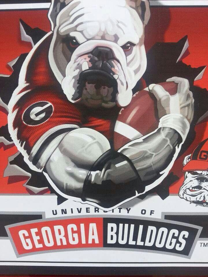georgia bulldog fans 24 best logos images on pinterest georgia bulldogs 6347