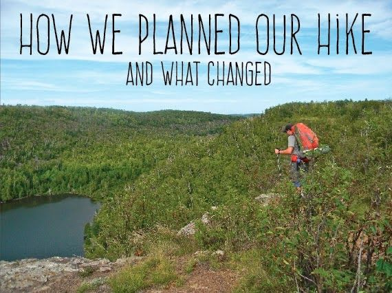 Superior Hiking Trail: Planning our trip