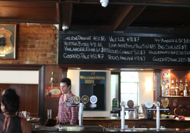 The Welcome Hotel in Rozelle - Bar - Food & Drink - Broadsheet Sydney