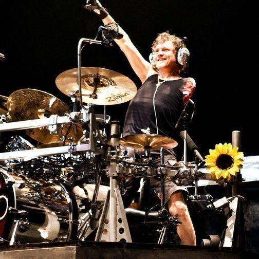 ⚡ Rick Allen - Always Rockin'! 🤘 #rickallen #drums #drummer #defleppard #1980s #rock