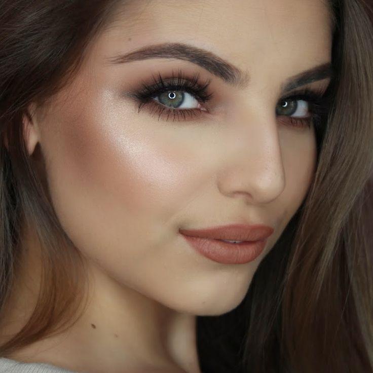 Wedding Makeup Brunette Green Eyes : 25+ Best Ideas about Brunette Blue Eyes on Pinterest ...