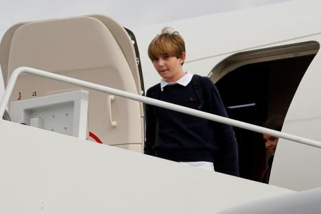 Where Is Barron Trump? Donald Trump's Youngest Son Planning Sleepovers At The White House