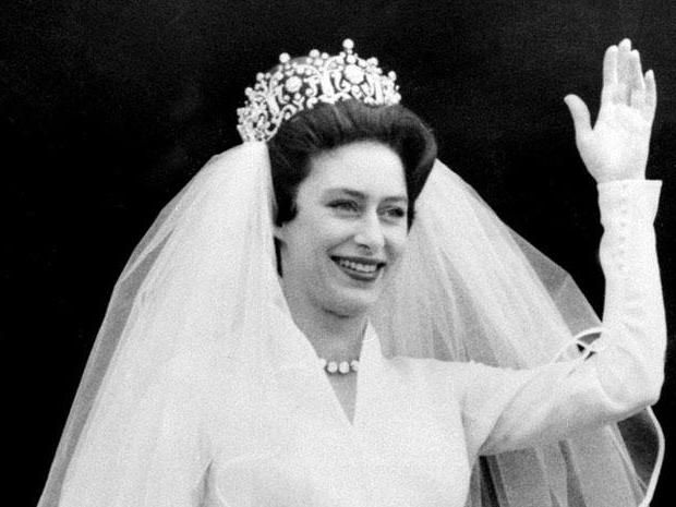 принцесса маргарет в молодости  -  свадьба.