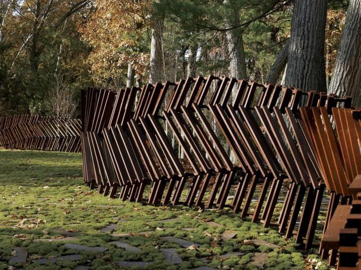 Steel Cut Ideen für den Außenbereich in 75 kreativen Designs. #cortensteel #pl… – Gartenterrasse 2019