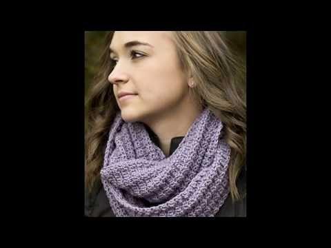 modernas bufandas tejidas a crochet youtube
