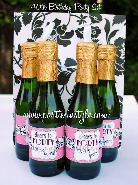 Fine, Fun, Fierce, Fabulous Forty Birthday Party Ideas | Photo 5 of 13 | Catch My Party