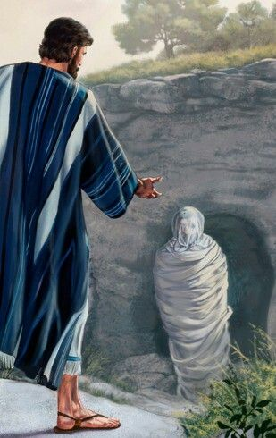 Jesus resurrects Lazarus - John 11
