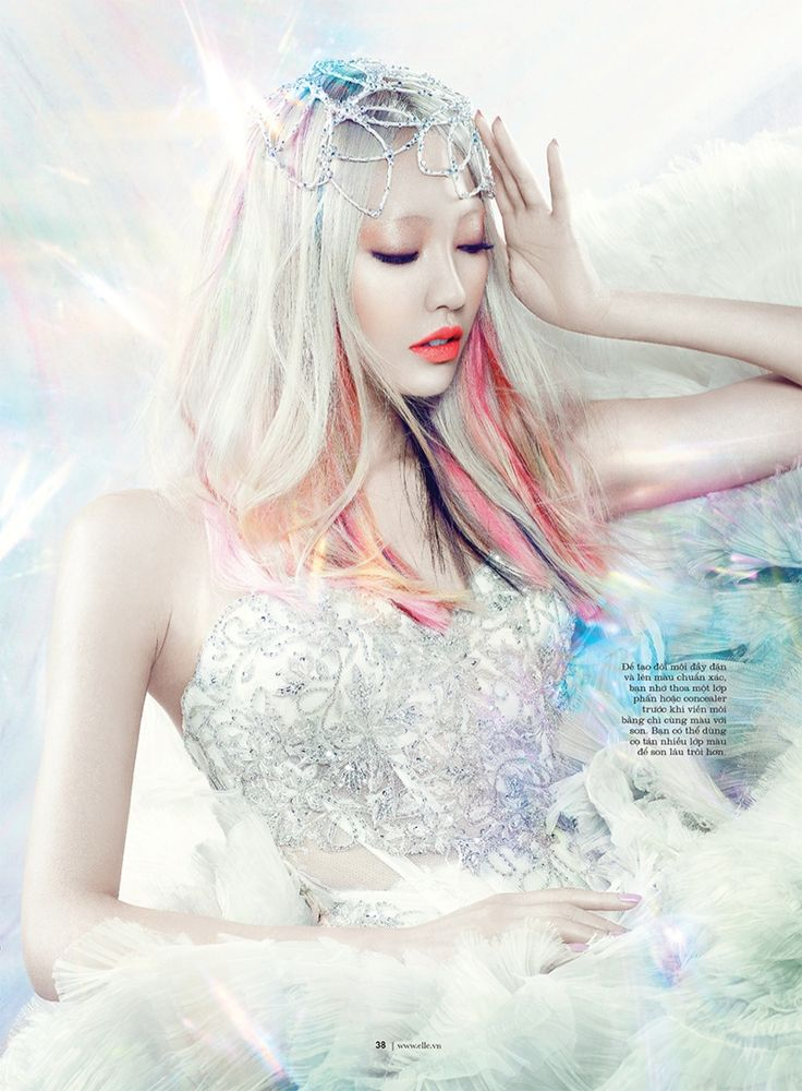 Model Soo Joo, photographer Yulia Gorbachenko, MUA Anastasia Durasova for Elle, Vietnam, October 2013