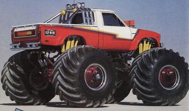 Fly N High Toyota Trucks Pinterest Monster Trucks