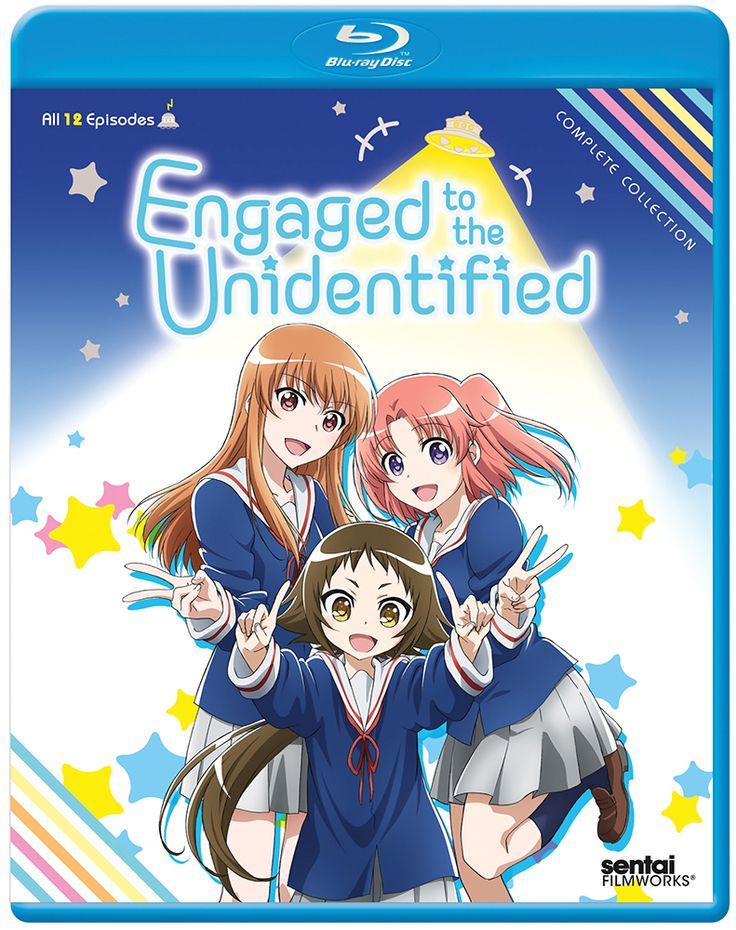 Engaged To The Unidentified Blu Ray Complete Collection S Anime MerchandiseTo