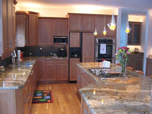 natural cherry kitchen cabinets 34 best images about kitchen designs on 3445