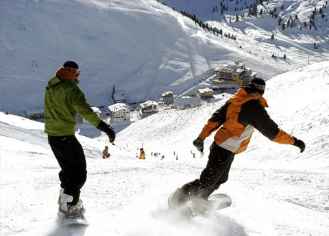 Lucky enough to ski here, Tyrol, Austria.