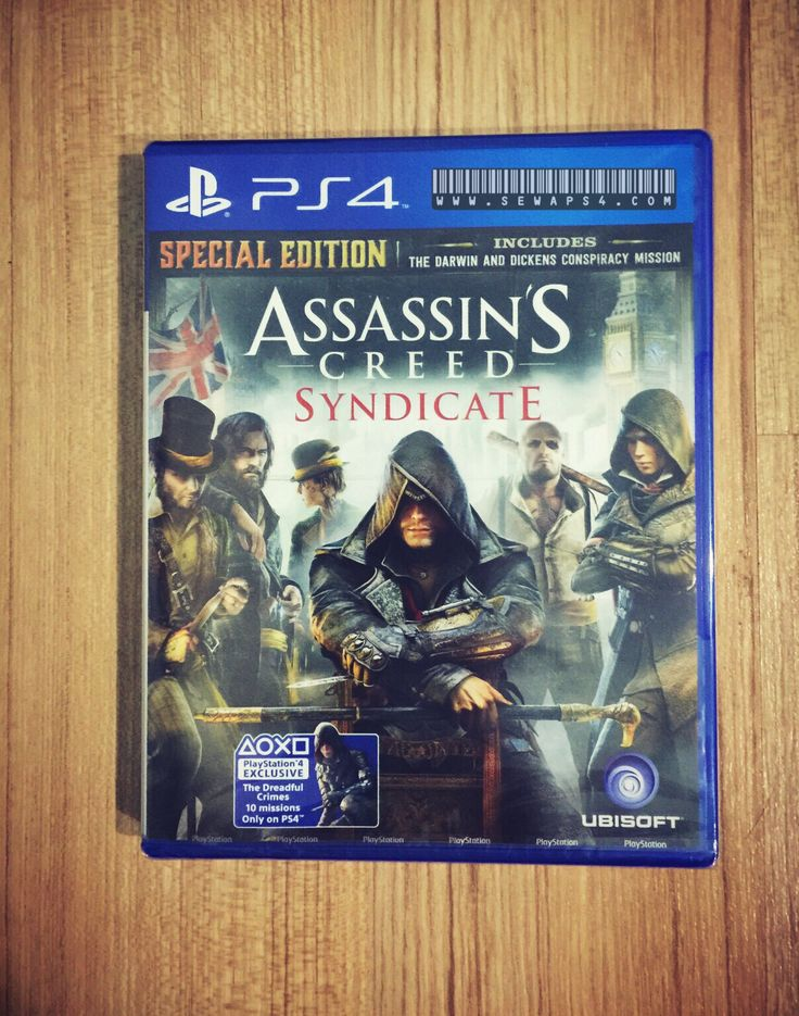 Assasin Creed : Syndicate oleh sewaps4.com rental ps4 harian jakarta tangerang 081906060620