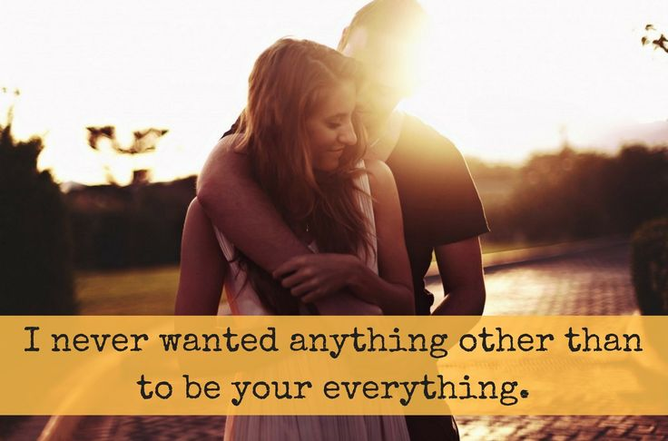 You are everything to me!  #TrueLove #Soulmate #TheSoulmateCoach