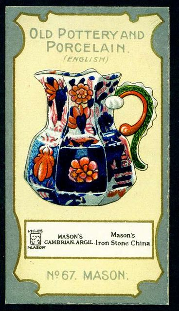 Cigarette Card - Mason Jug c1814 | Flickr - Photo Sharing!