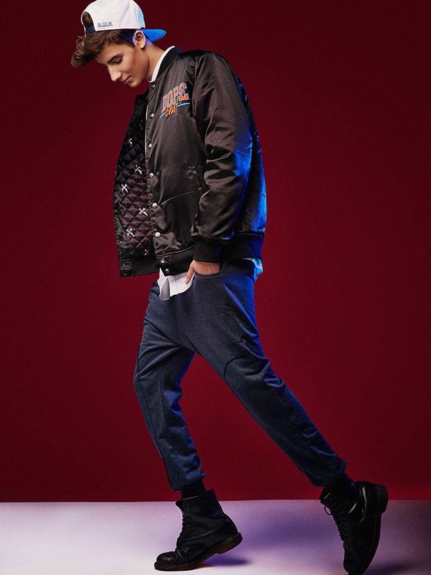 Fashion for men - My design sweatpants! Adam Boguta at D'Vision by Piotr Serafin