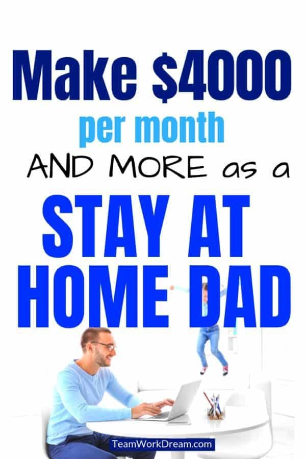 Can Men Make Money Doing Work From Home Jobs?