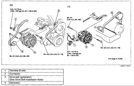 2003 mazda protege 5 engine compartment wiring schematic