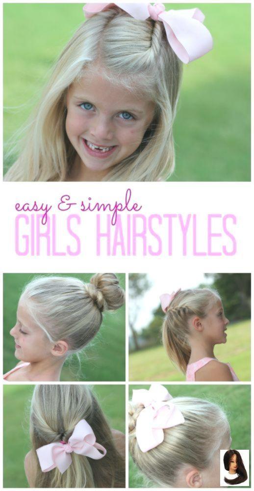 #easy #Girls #Hairstyles #Kids Hairstyles easy #School Easy Girls Hairstyles for…