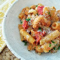 Alton Brown's Roasted Cauliflower Pasta Recipe