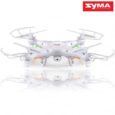 Nowy quadrocopter znanej i renomowanej marki Syma - X5C to najlepszy w swojej klasie model rc wyposażony w kamerę. Posiada bardzo dobre opinie  Dron w wersji RTF (Ready To Fly - gotowy do lotu od razu po wyjęciu z pudełka). Zacznij nagrywać swoją okolice z lotu ptaka za pomocą kamery
