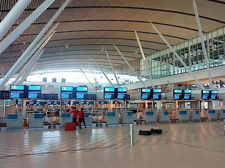 Cape Town International Airport Viewing Lounge/Deck