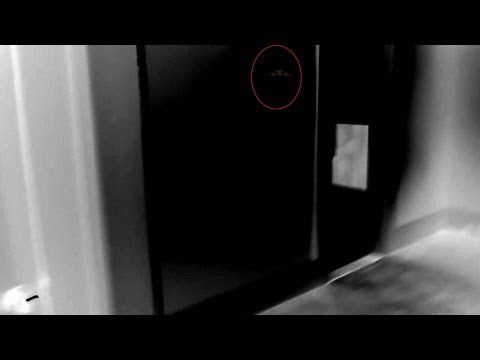 GHOST image caught on video! SOUNDS EVIL or at least not friendly! Paranormal Activity