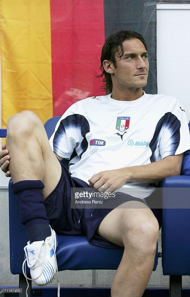 Francesco Totti #Captain #Legend #ItalyNT #Azzurri #ASRoma #SerieA #Calcio #Totti #10