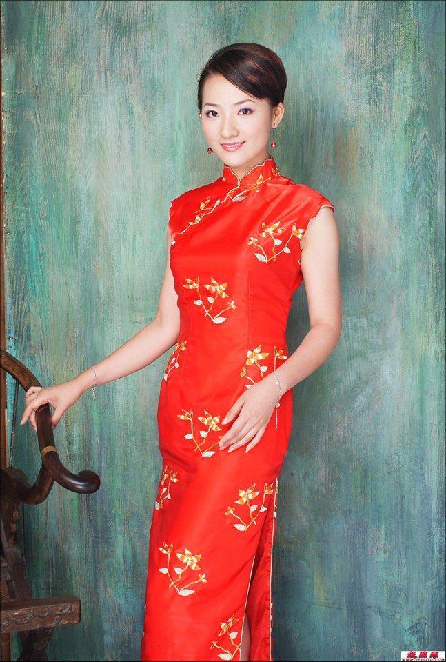 Épinglé sur Chinese Cheongsam , Qi Pao - 旗袍