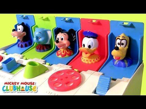 Mickey Mouse Clubhouse Pop-Up Pals Surprise Disney Baby Toys - Learn Colors with Dumbo Donald Minnie - YouTube