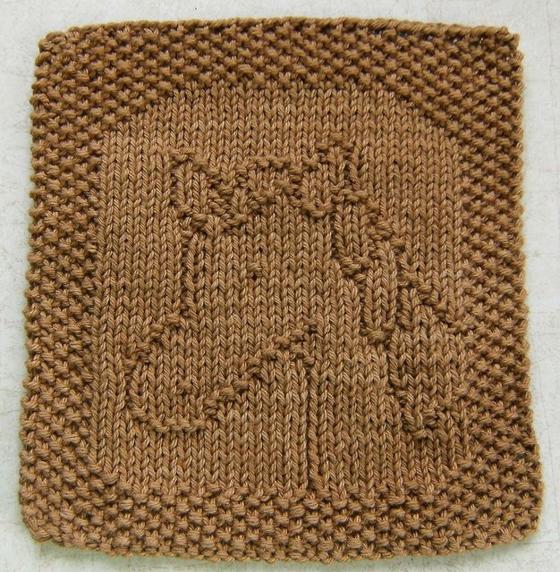Knit Dishcloth Pattern Horse : 1000+ images about Dishcloth patterns - Animals, Birds & Bugs on Pinteres...