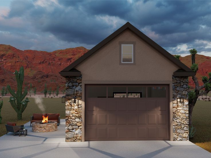 065g 0026 Two Car Drive Thru Garage Plan In 2020 Country Style House Plans Floor Plan Design Pool House Plans