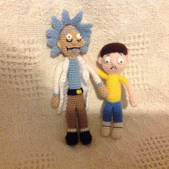 Amigurumi Rick And Morty : Rick and Morty - Adult Swim Rick and, Swim and Etsy