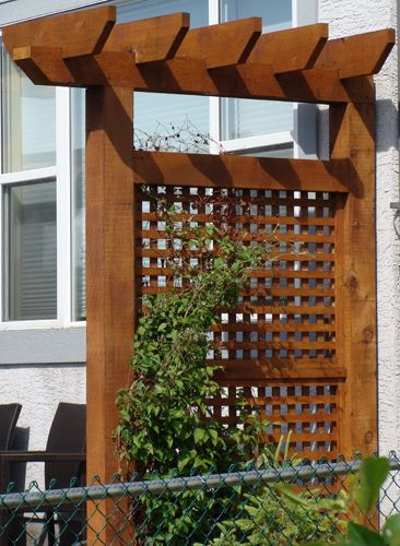 1000 Images About Backyard Pergola And Privacy Screens On