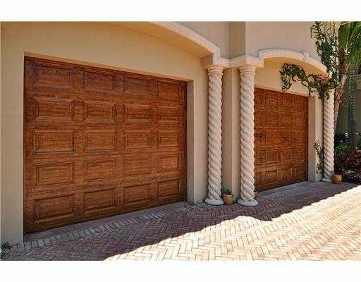 Faux Wood Raised Panel Garage Doors
