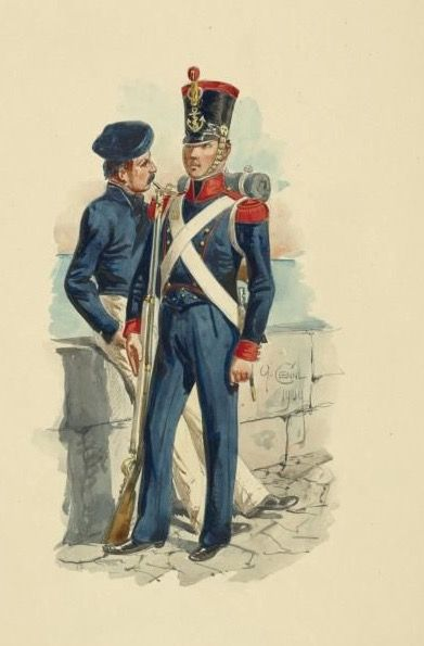 Fuciliere di Marina del regno di Napoli