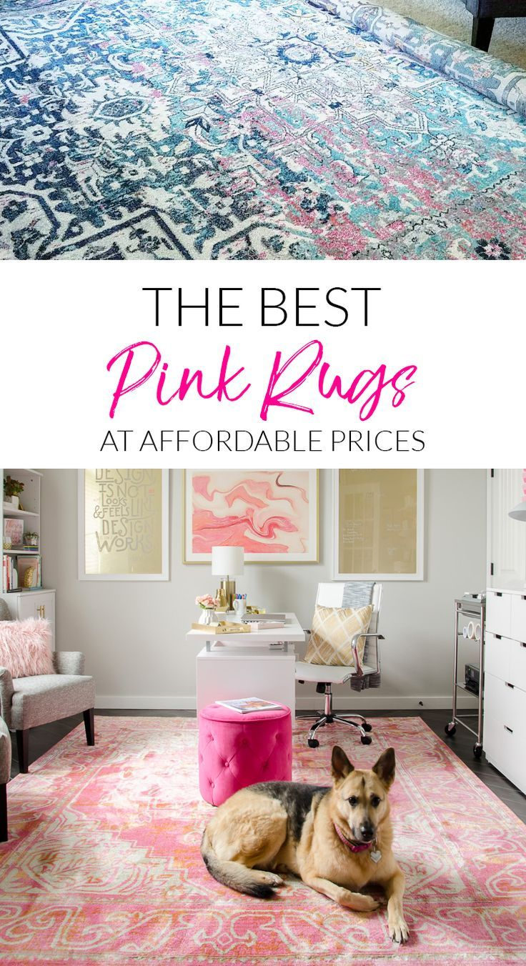Looking For A Pink Rug I Found The Best Options From Blush To