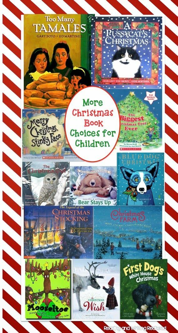 If you have been over on my Facebook page, you may have noticed I have been posting 1-2 book suggestions each day for Hannukah or Christmas (Kwanzaa coming soon). So... I couldn't resist putting together a Christmas books for children post similar to my Hanukkah books blog post. Check out all my favorites and let me know - Which book do you love? For more posts like this check out my blog at www.readingandwritingredhead and sign up for my free newsletter: eepurl.com/DFyuj