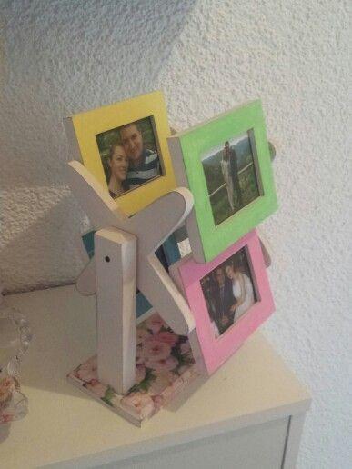 Foto frame decoupage