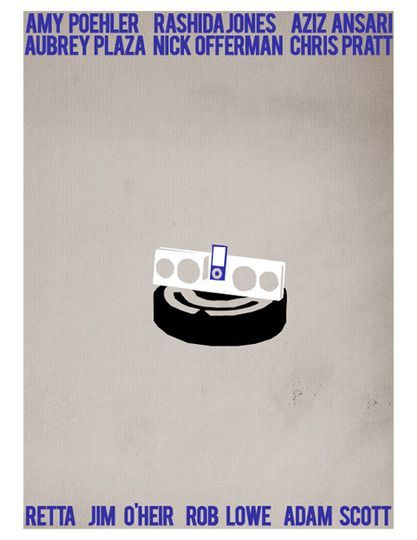 http://www.phomz.com/category/Roomba/ parks and rec artwork – I blame Jerry for this not being done sooner