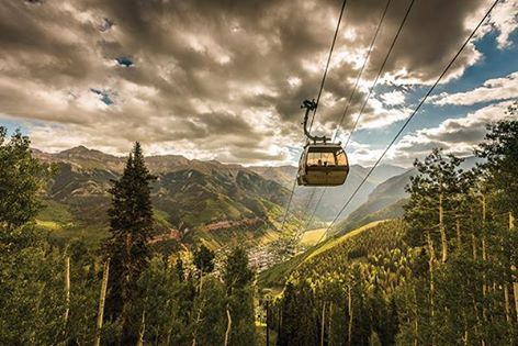 'Hike more than 500 miles: ✔ Finish the Colorado Syllabus: ✔ Take the Telluride gondola at sunset: ✔ Take a selfie on a Fourteener: ✔   Here, the ultimate must-do list for all Coloradans: 5280.com/bucketlist'