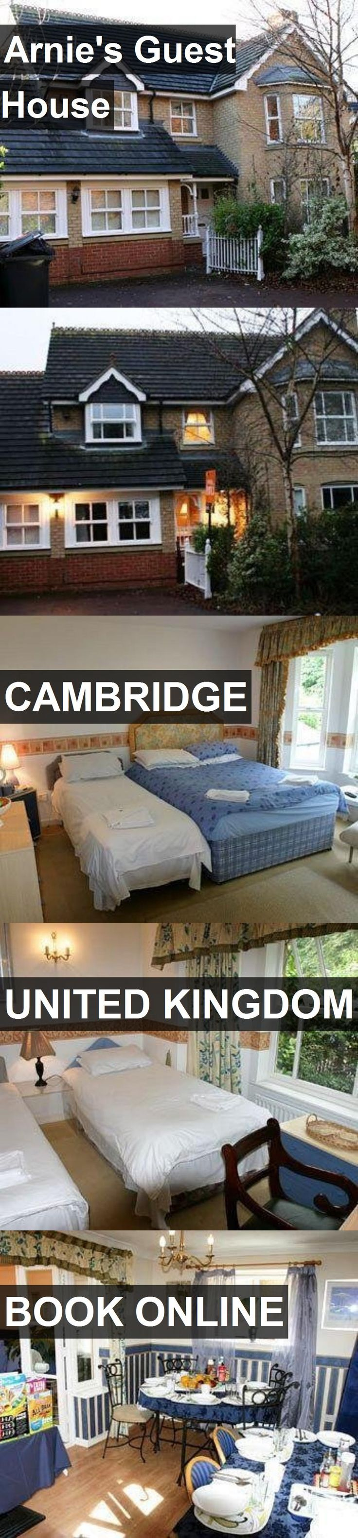 Arnie's Guest House in Cambridge, United Kingdom. For more information, photos, reviews and best prices please follow the link. #UnitedKingdom #Cambridge #travel #vacation #guesthouse