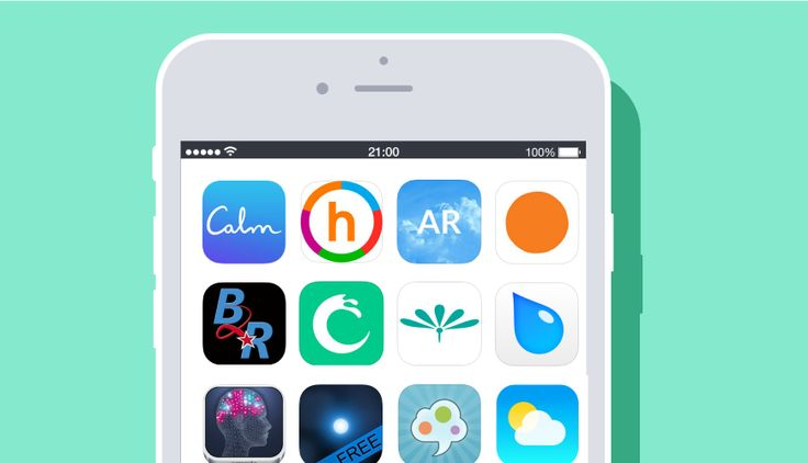 Struggling with anxiety? There's an app for that! These (mostly FREE!) apps for Android and iOS can help you calm down, manage stress and mood, and practice meditation to reduce anxious thoughts and sleeplessness.
