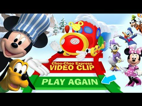 Mickey Mouse Clubhouse Choo Choo Express Full Episodes Baby Video Game