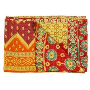 Vintage Sari Throw Nalia now featured on Fab.