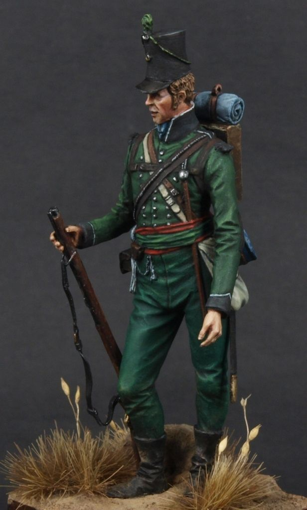 Sgt. Rifle Bgde 95th Rgt of Foot Coruna 1809