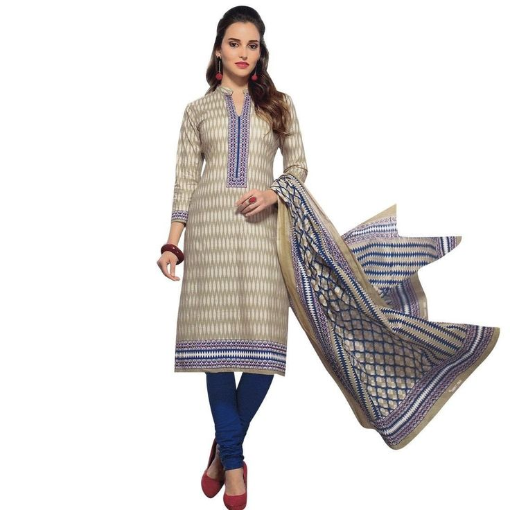 Ready To Wear Ethnic Printed Cotton Salwar Kameez Suit Indian Pakistani  #Designer #SalwarSuit #LowestPrice #FreeShipping #ShopNow #SalwarKameez #DressMaterial #NewStuff