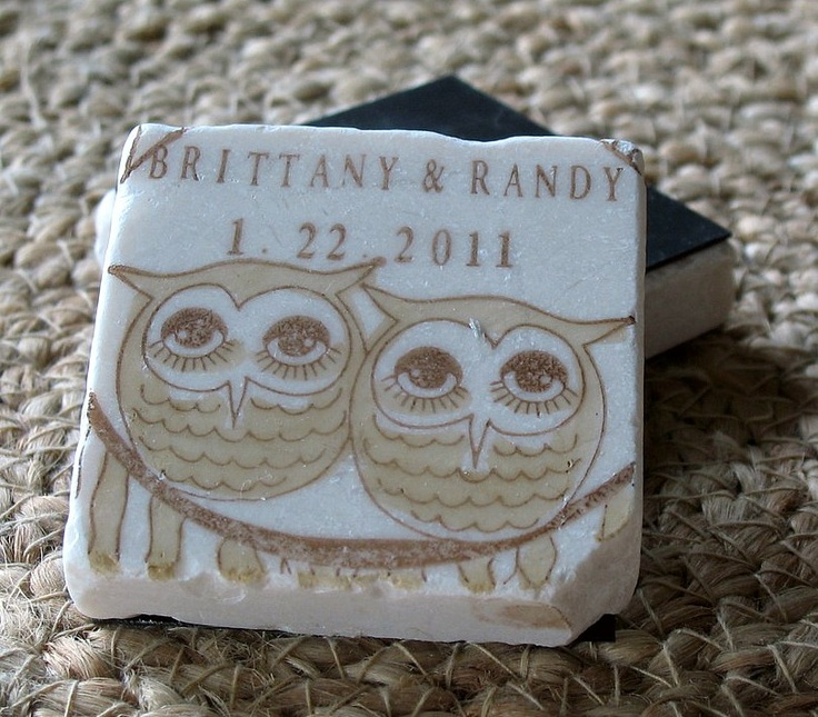 Owl Save The Date Magnets Wedding Favors Cozy Brown Set Of 25 5145 Via Etsy