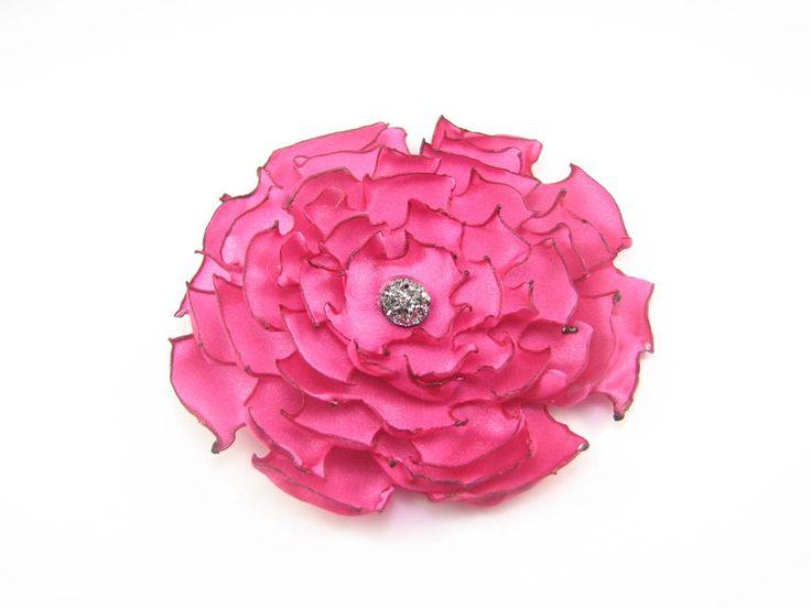 Floare roz creata