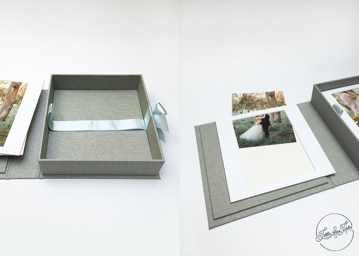 Mats Presentation Box Photo Photo Box for 75x78 by LittleFineArts